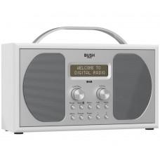 Bush Stereo DAB Radio - Piano Gloss White