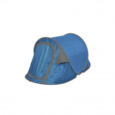 Trespass 2 Man Pop Up Tent - Blue/Grey (B Grade)