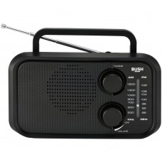 Bush PR-206 FM/AM Portable Radio - Black