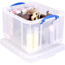 Really Useful 42 Litre Clear Storage Box