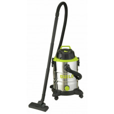 Guild 30L Steel Drum Wet & Dry Canister Vacuum Cleaner - 1500W