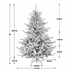 Home 6ft Mixed Tip Natural Look Christmas Tree - Green