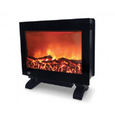 Easy Home Flame Effect Heater - Black