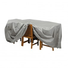Deluxe Oval Table and Chair Cover