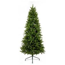 Premier Decorations 7ft Pre-lit Leighfield Pine Christmas Tree - Green