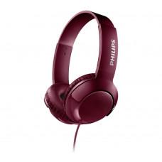 Philips SHL3070 On-Ear Headphones - Maroon