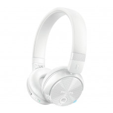 Philips SHB8750NC Wireless Noise Cancelling On-Ear Headphones - White