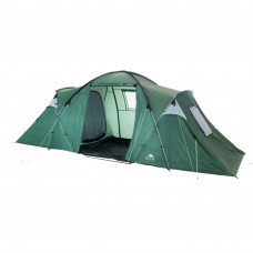 Trespass 6 Man 2 Room Tunnel Tent Colour Coded Grey Poles - 2903356