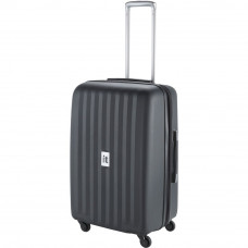 IT Extra Strong Medium 4 Wheel Suitcase - Black