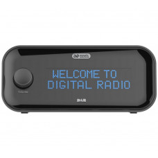 Acoustic Solutions DAB Clock Radio - Black