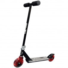 Zinc Non Folding Light Up Scooter - Black