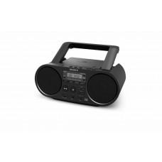 Sony ZS-PS55B CD Boombox with DAB & FM Radio – Black