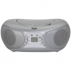 Bush Bluetooth CD Player Radio Boombox - Silver