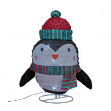 Home Pop Up & Light Up Christmas Penguin
