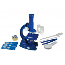 Discovery Channel Microscope Set (No Spare Bulb & Blank Slides Only)
