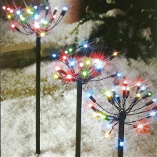 Premier Decorations Set Of 5 LED PathFinder Christmas Lights - Multicoloured