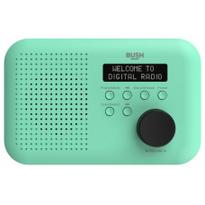 Bush Portable Mono DAB Radio - Mint (Mains Operated Only)