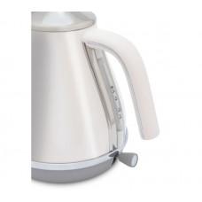 DeLonghi Icona Capitals Cordless Jug Kettle - White (No Power Indicator Light)