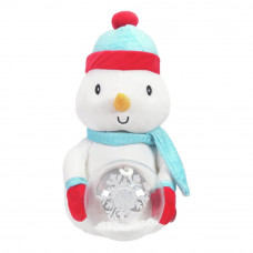 Home Animated Plush Snowman Christmas Soft Toy (Snow Globe Not Working)