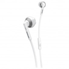 Philips SHE3205 In-Ear Headphones with Mic – White
