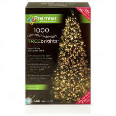 1000 LED Treebrite Lights – Warm White
