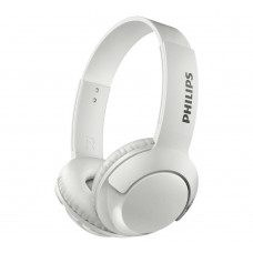 Philips SHB3075 Wireless On-Ear Headphones - White (No USB Cable)