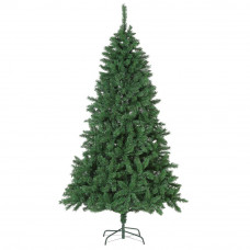 Heart of House 7ft Pre-lit Nordic Fir Colour Switch Christmas Tree - Green