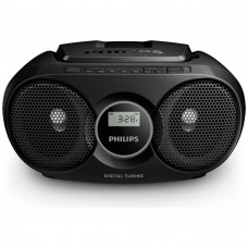 Philips AZ215B/05 CD Boombox - Black (Battery Operated Only)