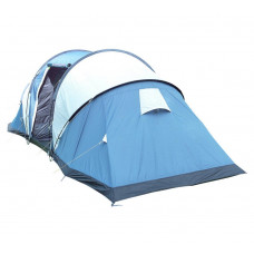 Trespass Go Further 6 Man 2 Room Tent with Carpet