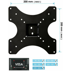 AVF Standard Tilting UpTo 40 Inch TV Wall Mount