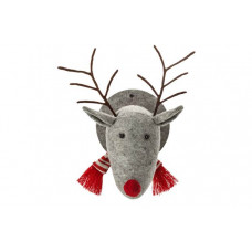 Heart of House Oskar Fabric Stag Head