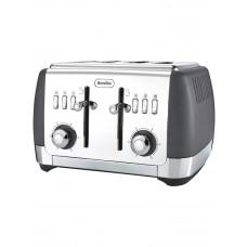 Breville VTT764 Strata 4 Slice Toaster - Matt Grey