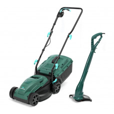 McGregor 1200w Lawnmower And 250w Grass Trimmer Pack