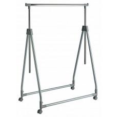 Home Foldable Clothes Rail - Chrome