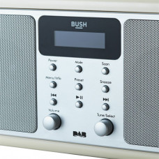 Bush Bluetooth Stereo DAB Radio - Cream