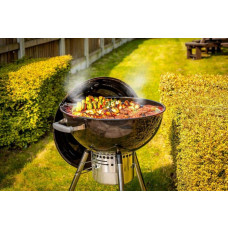 Bar-Be-Quick Charcoal Kettle BBQ & Pizza Oven - Black