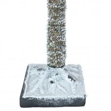Snowy Half Christmas Tree - 6ft