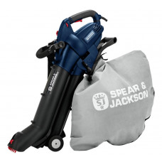 Spear & Jackson Corded Leaf Blower & Vac - 3000W (No Shoulder Strap) (B Grade)