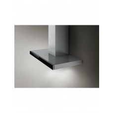 Elica Joy Wall Mounted Hood 60cm - Stainless Steel Black Glass