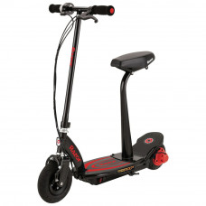 Razor Power Core E100S Electric Scooter - Black & Red