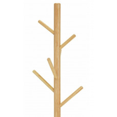 Home Wooden Coat Stand - Black