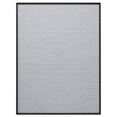 Habitat 82 x 62cm Aluminus Metal Picture Frame - Black