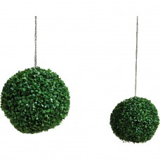 38cm Artificial Grass Balls - 2 Pack