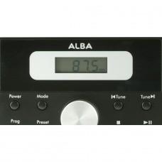 Alba LCD CD Radio Micro System - Black