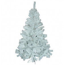 Kingfisher 6ft White Pines Christmas Tree - White