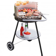 Round Charcoal BBQ