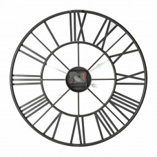 Home Large Numerical Wall Clock - Black