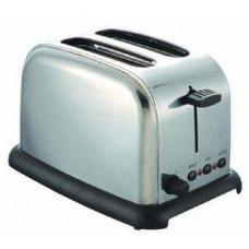 Homebase Stainless Steel 2-Slice Toaster