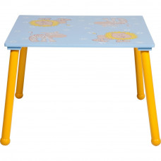 Animal Table and One Chair - Multicoloured
