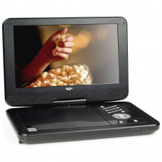 Bush 12 Inch Black Portable DVD Player